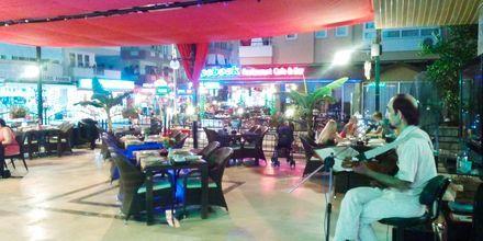 Restaurant på Hotel Sailor i Alanya, Tyrkiet.