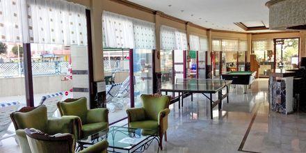 Lobbyen på Hotel Sailor i Alanya, Tyrkiet.