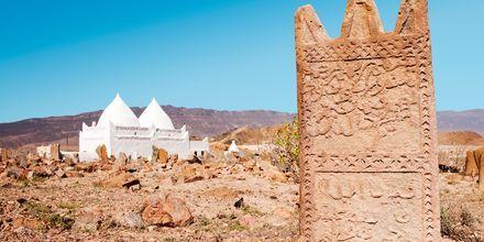 Bin Ali-masouleum ved Mirbat udenfor Salalah, Oman.