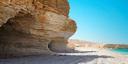 Mughsaystranden, ca. 40 km udenfor Salalah, Oman.