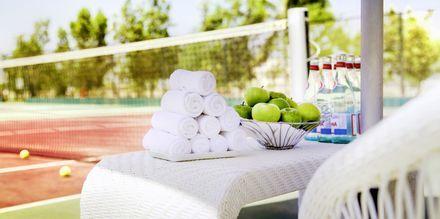 Tennis på Salalah Rotana Resort, Oman