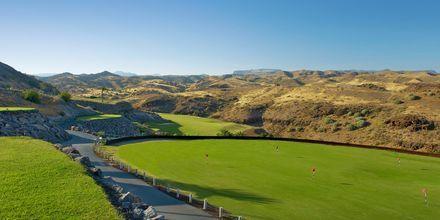 Golfbaner ved Sheraton Salobre Golf Resort & Spa på Gran Canaria, De Kanariske Øer.