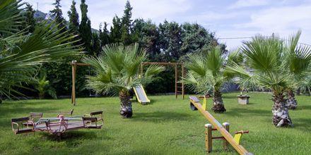 Legeplads på Hotel Samaina Inn i Karlovassi, Samos, Grækenland.