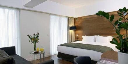 Superior-værelse på Hotel Samaria i Chania by på Kreta, Grækenland.