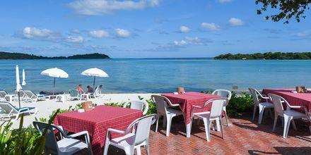 Strandrestauranten på Hotel Samui Natien Resort på Koh Samui, Thailand