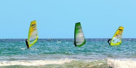 Vandsport i San Agustin på Gran Canaria, De Kanariske Øer.