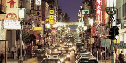 Grant Avenue i Chinatown.