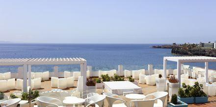 Chill-out område på Hotel Sandos Papagayo Beach Resort på Lanzarote, De Kanariske Øer