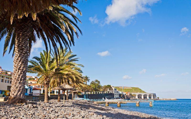 Santa Cruz på Madeira i Portugal.