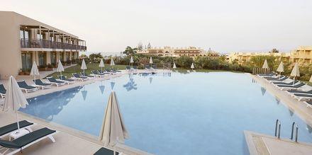 Relax-poolen ved den nye del på Santa Marina Beach i Agia Marina på Kreta, Grækenland