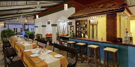 Restaurant på Hotel Santiago Goa, Det Nordlige Goa.