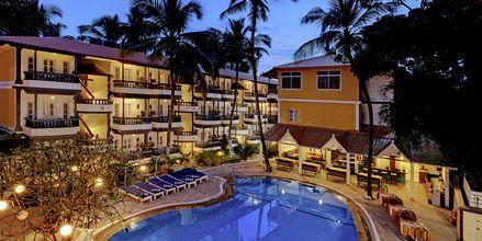 Poolen på Hotel Santiago Goa, Det Nordlige Goa.