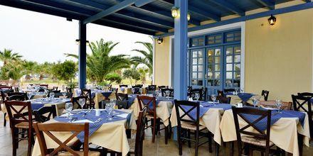 Restaurant på Hotel Santo Miramare Resort på Santorini, Grækenland.