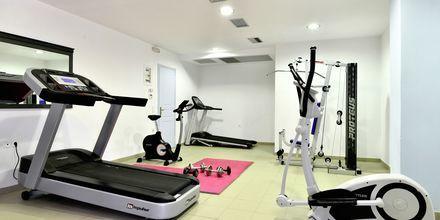 Fitness på hotel Santo Miramare Resort på Santorini, Grækenland.