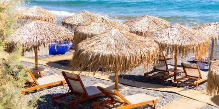 Nyd skønne dage ved havet på Santorini i Perissa/Perivolos.