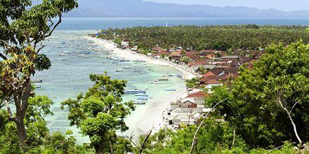 Den uberørte lille ø Lembongan nær Sanur.
