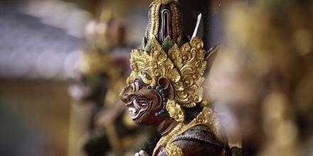 Candi Dasa på Bali.