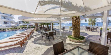 Poolområdet på Hotel Saranda Palace i Albanien