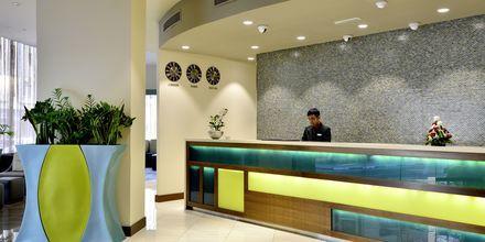 Reception på Hotel Savoy Central i Bur Dubai, De Forenede Arabiske Emirater.