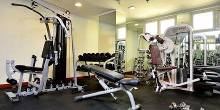 Fitnessfaciliteter på Hotel Savoy Central i Bur Dubai, De Forenede Arabiske Emirater.