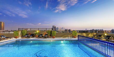 Poolen på Hotel Savoy Central i Bur Dubai, De Forenede Arabiske Emirater.