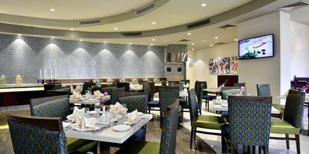 Restaurant på Hotel Savoy Central i Bur Dubai, De Forenede Arabiske Emirater.