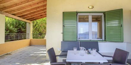 Udeplads til 2-værelses lejlighed på Hotel Scorpios på Lefkas, Grækenland