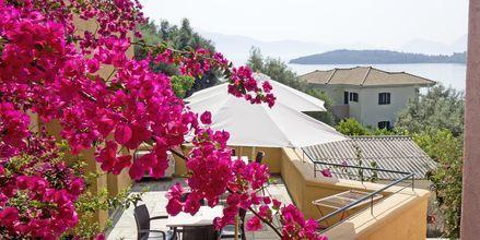 Balkon på Hotel Scorpios på Lefkas, Grækenland