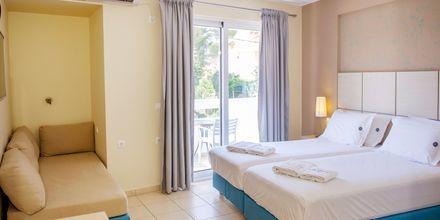 Dobbeltværelser på Hotel Seaview på Lefkas, Grækenland.