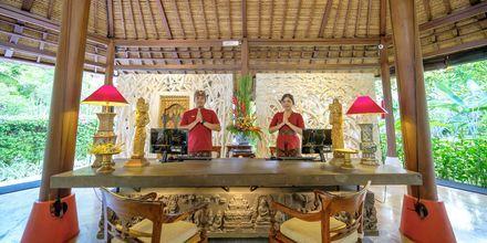 Lobby på Hotel Segara Village, Bali, Indonesien.