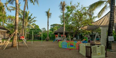 Legeplads på Hotel Segara Village, Bali, Indonesien.