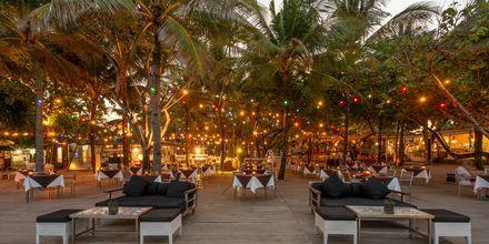 Restaurant på Hotel Segara Village, Bali, Indonesien.
