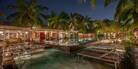 Aften på Hotel Segara Village, Bali, Indonesien.