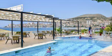 Pool på Hotel Sejko i Saranda, Albanien.
