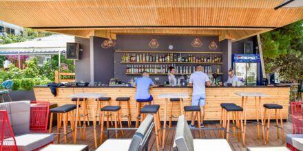 Bar på Hotel Sejko i Saranda, Albanien.