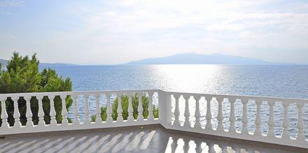 Udsigt fra Hotel Sejko i Saranda, Albanien.