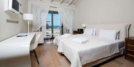 Enkeltværelse på Hotel Aegean Pearl på Kreta, Grækenland.