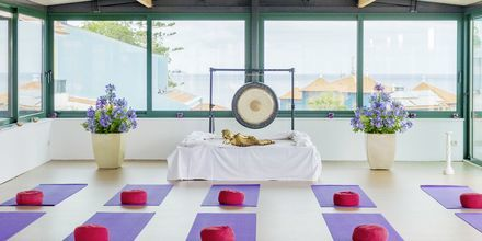 Yoga på hotel Galosol i Funchal, Madeira.
