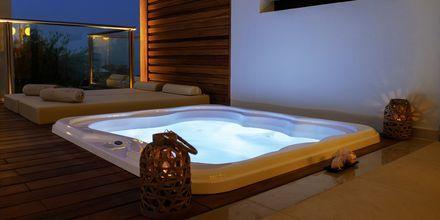Deluxe-værelse med jacuzzi på Sentido Port Royal Villas & Spa i Afandou på Rhodos