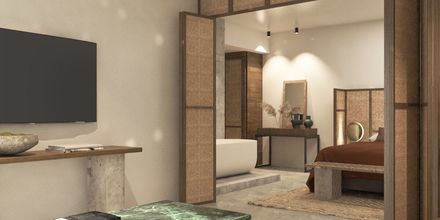 Skitsetegning af superior-suite på Sentido Port Royal Villas & Spa