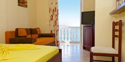 Dobbeltværelse på Hotel Serxhio i Saranda, Albanien