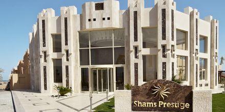 Hotel Shams Prestige Abu Soma i Soma Bay, Egypten.