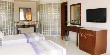Superior-værelse på Hotel Shams Prestige Abu Soma i Soma Bay, Egypten.