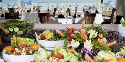 Buffet på Hotel Shams Prestige Abu Soma i Soma Bay, Egypten.