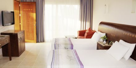 Dobbeltværelse på Hotel Shams Prestige Abu Soma i Soma Bay, Egypten.