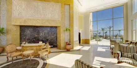 Reception på Hotel Shams Prestige Abu Soma i Soma Bay, Egypten.