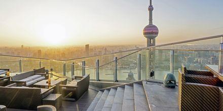 Nyd en drink med udsigt i Shanghai.
