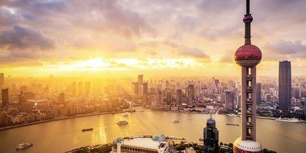 Shanghai er Kinas mest moderne by med 20 mio. indbyggere.