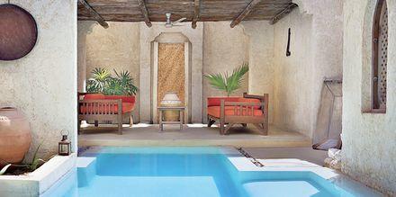 Pool på spaområdet på Sharq Village & Spa i Doha, Qatar.