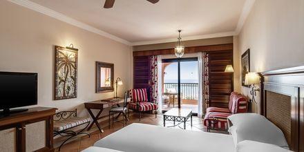 Deluxe-værelser på Hotel Sheraton Fuerteventura Beach, Golf & Spa Resort på Fuerteventura, De Kanariske Øer, Spanien.